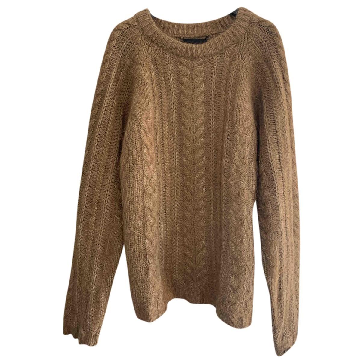 Burberry - Pulls.Gilets.Sweats   pour homme en laine - camel