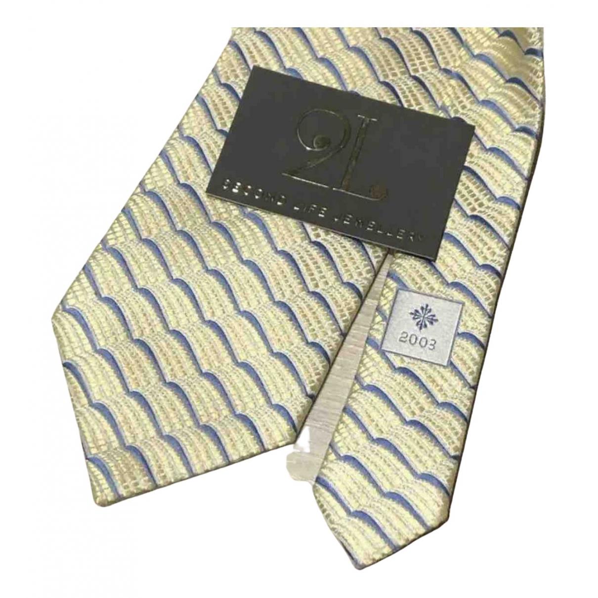 Patek Philippe \N Beige Silk Ties for Men \N