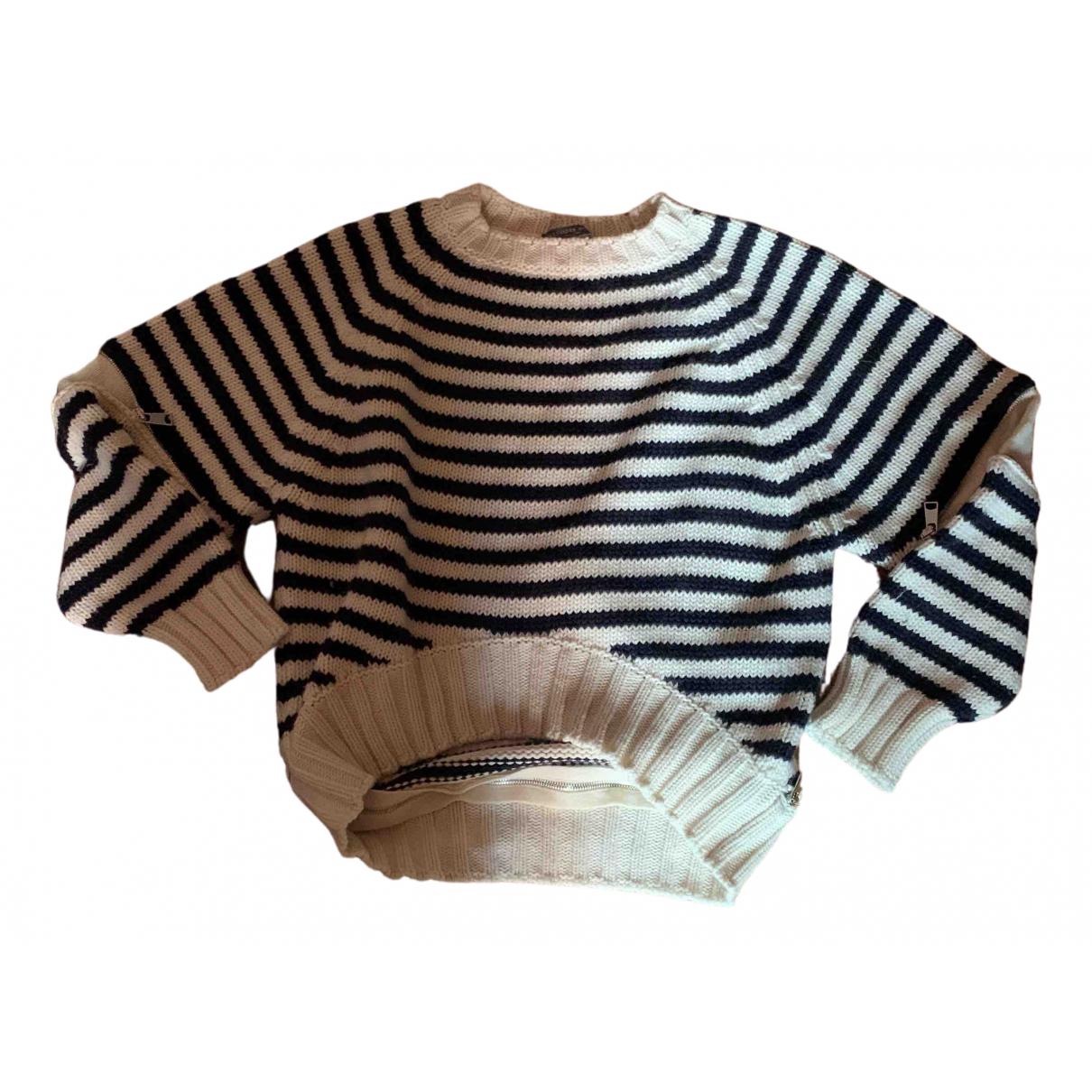 Alexander Mcqueen \N White Wool Knitwear for Women M International