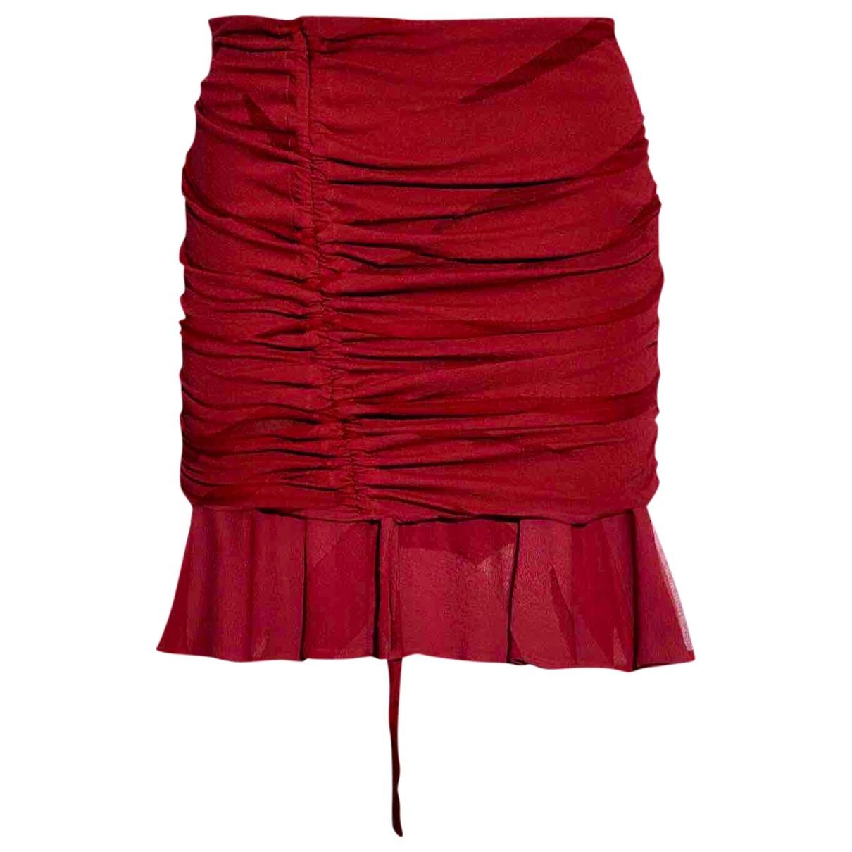 Iro \N Rocke in  Rot Viskose