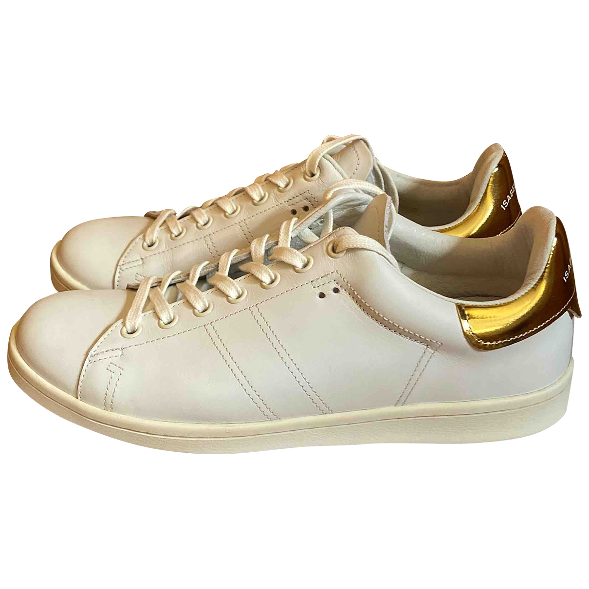 Isabel Marant Etoile \N White Leather Trainers for Women 39 EU