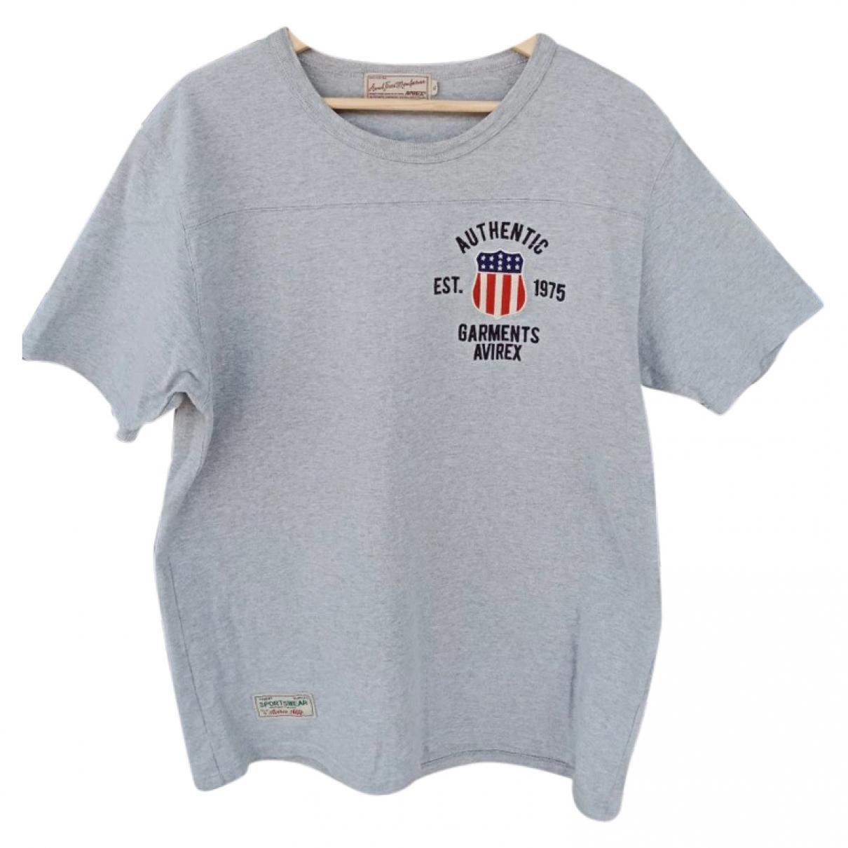 Avirex \N T-Shirts in  Grau Baumwolle