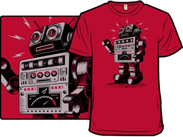 Retrobot T Shirt