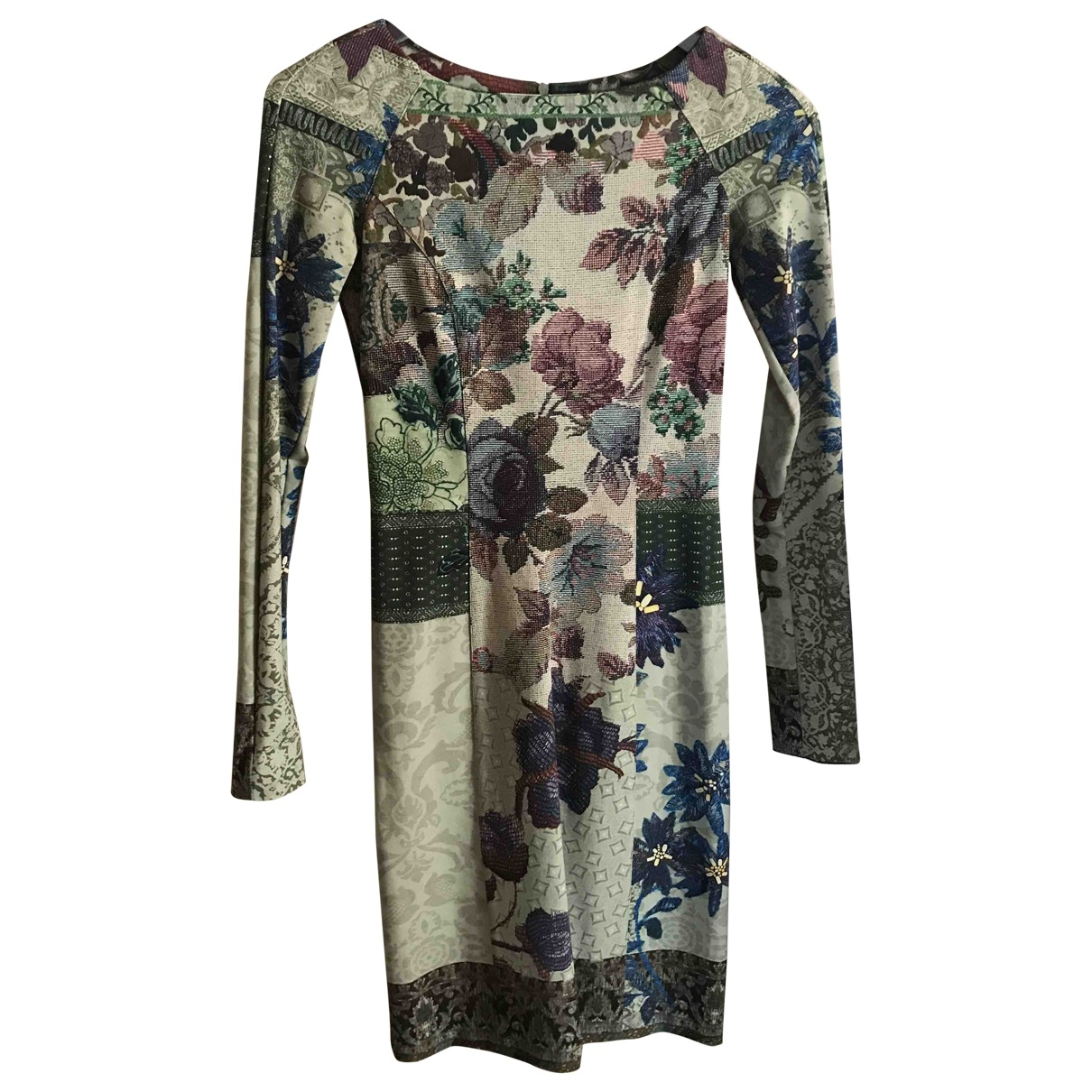Etro \N Multicolour Wool dress for Women 38 IT