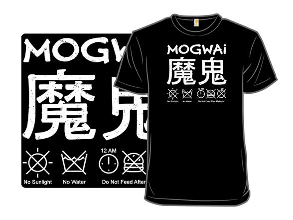 Mogwai Care Instructions T Shirt