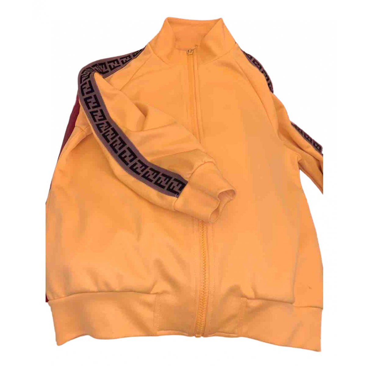 Fendi N Yellow Cotton Knitwear for Kids 10 years - up to 142cm FR