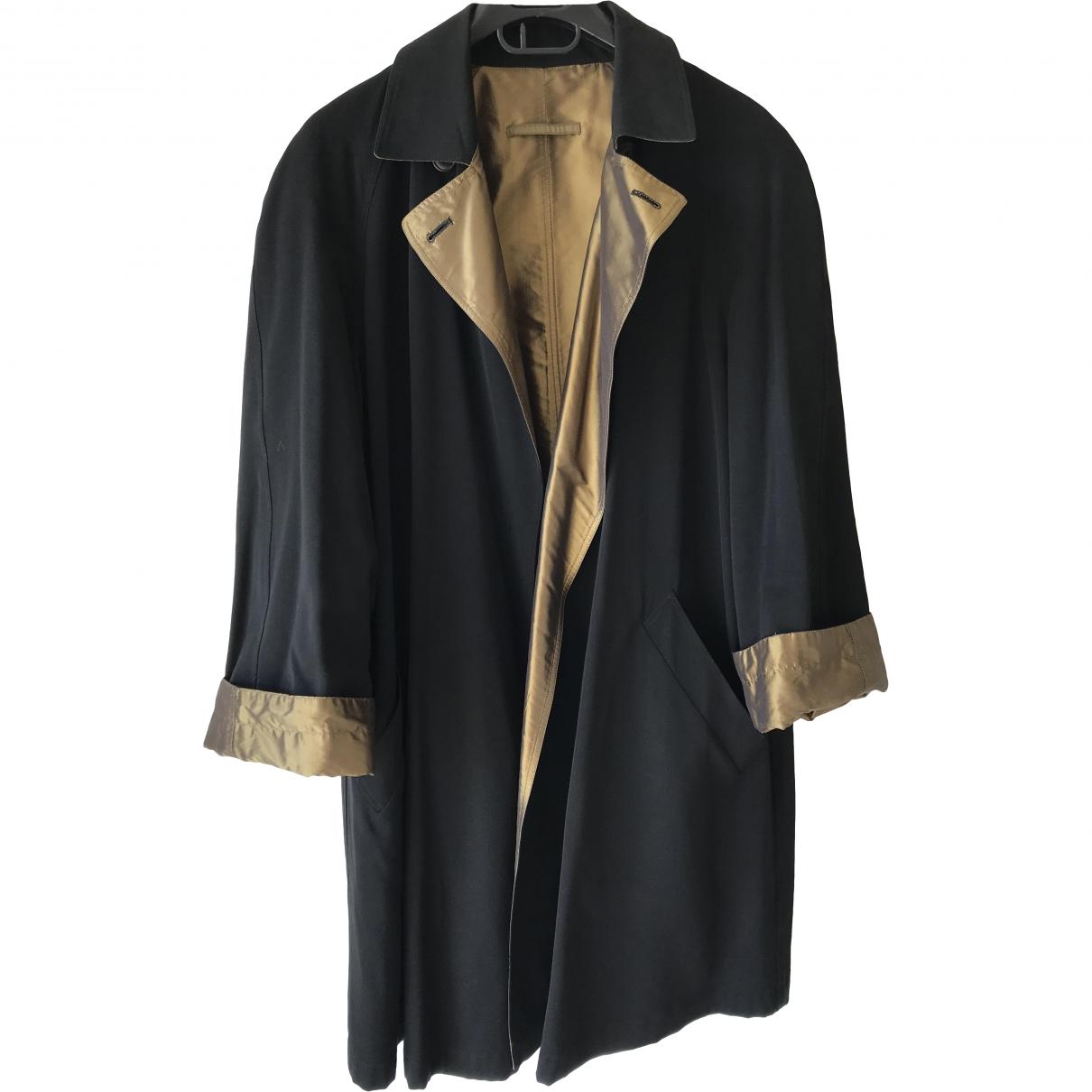 Jean Paul Gaultier N Black Wool Trench coat for Women 38 FR