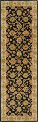 Crowne CRN-6009 3' x 12' Runner Traditional Rug in