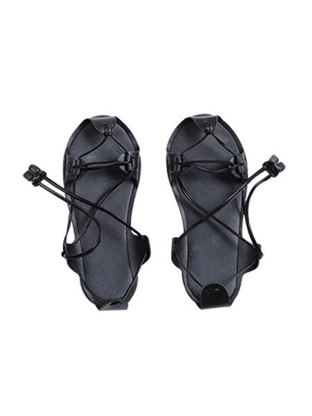 Milanoo Ghost Of Tsushima Jin Sakai Black Cosplay Shoes