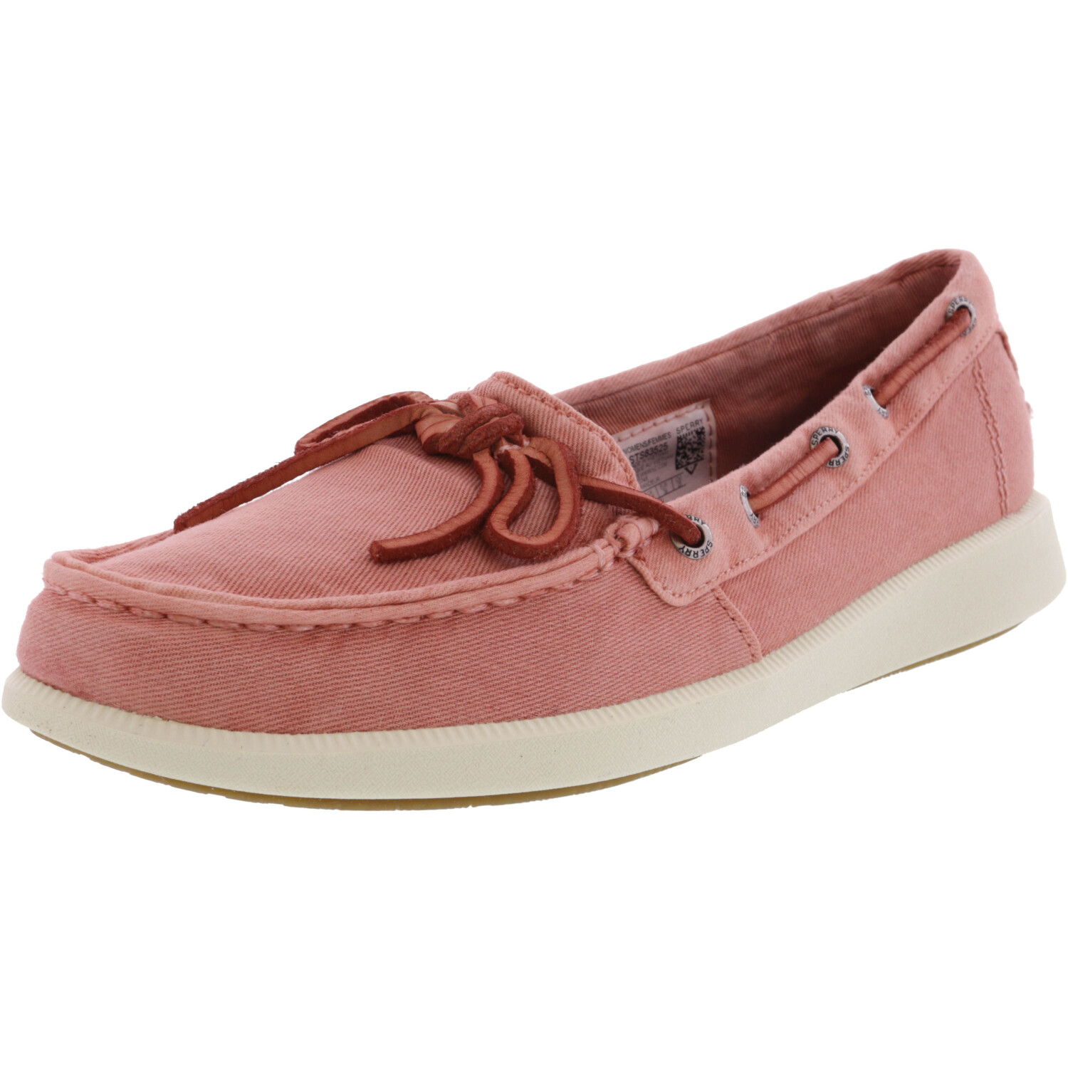 Sperry Women's Oasis Canal Red Low Top Canvas Boating - 12M