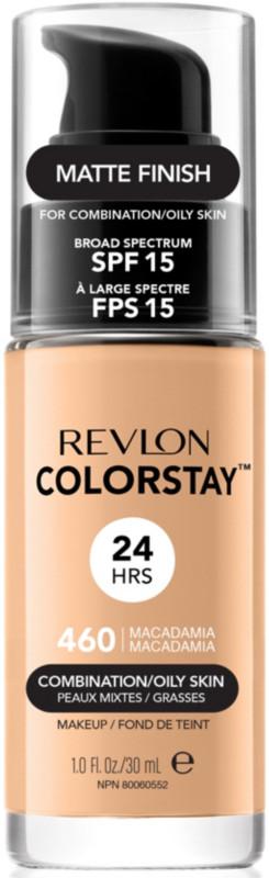 ColorStay Makeup For Combo/Oily Skin - 460 Macadamia