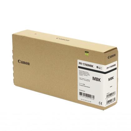 Canon PFI-1700 cartouche d'encre originale noire mat ee pigment