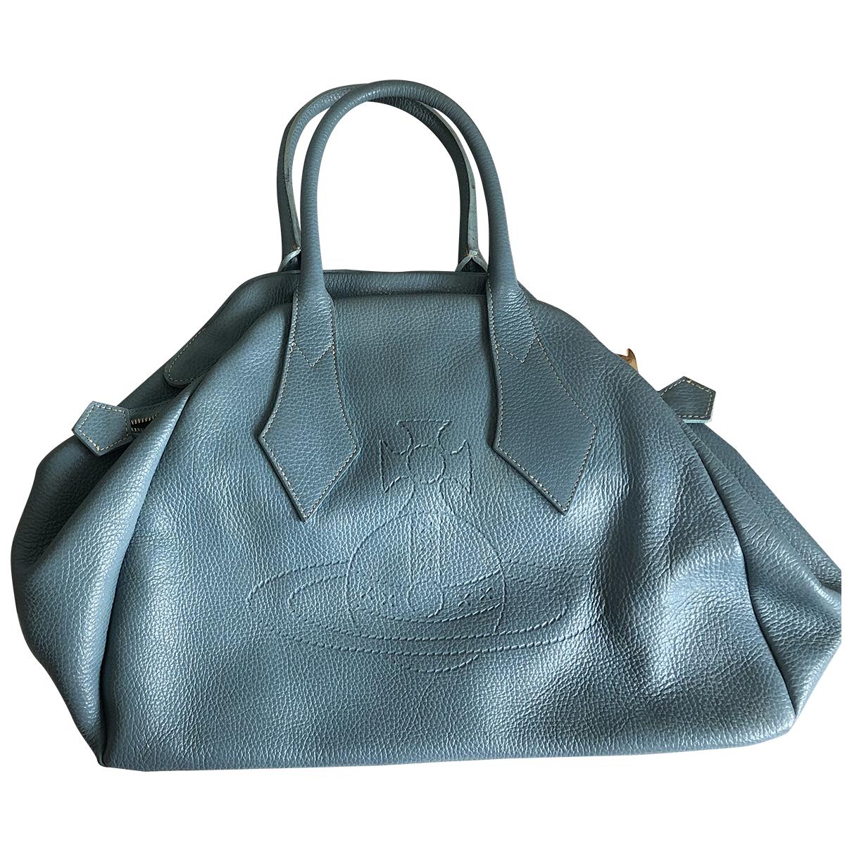 Vivienne Westwood \N Handtasche in  Blau Leder
