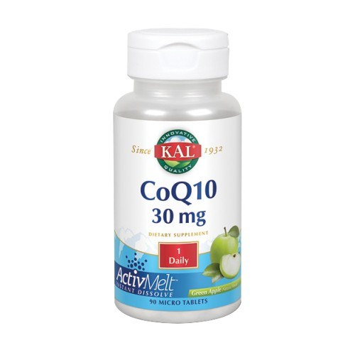 CoQ10 Green Apple 90 Count by Kal