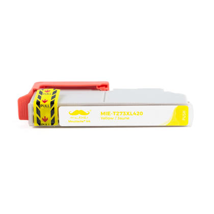 Epson 273 T273XL420 cartouche d'encre compatible jaune haute capacit� - Moustache�