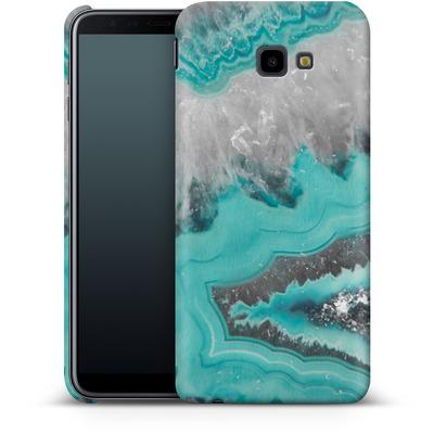 Samsung Galaxy J4 Plus Smartphone Huelle - Water Agate von Emanuela Carratoni