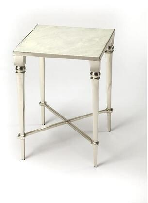 Darrieux Collection 3677260 End Table with Modern Style  Square Shape and Aluminum Material in Modern Expressions