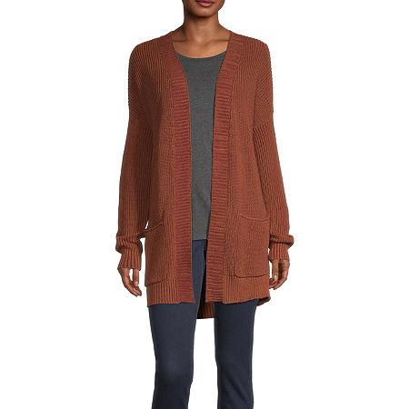 a.n.a Womens Cardigan, Medium , Brown