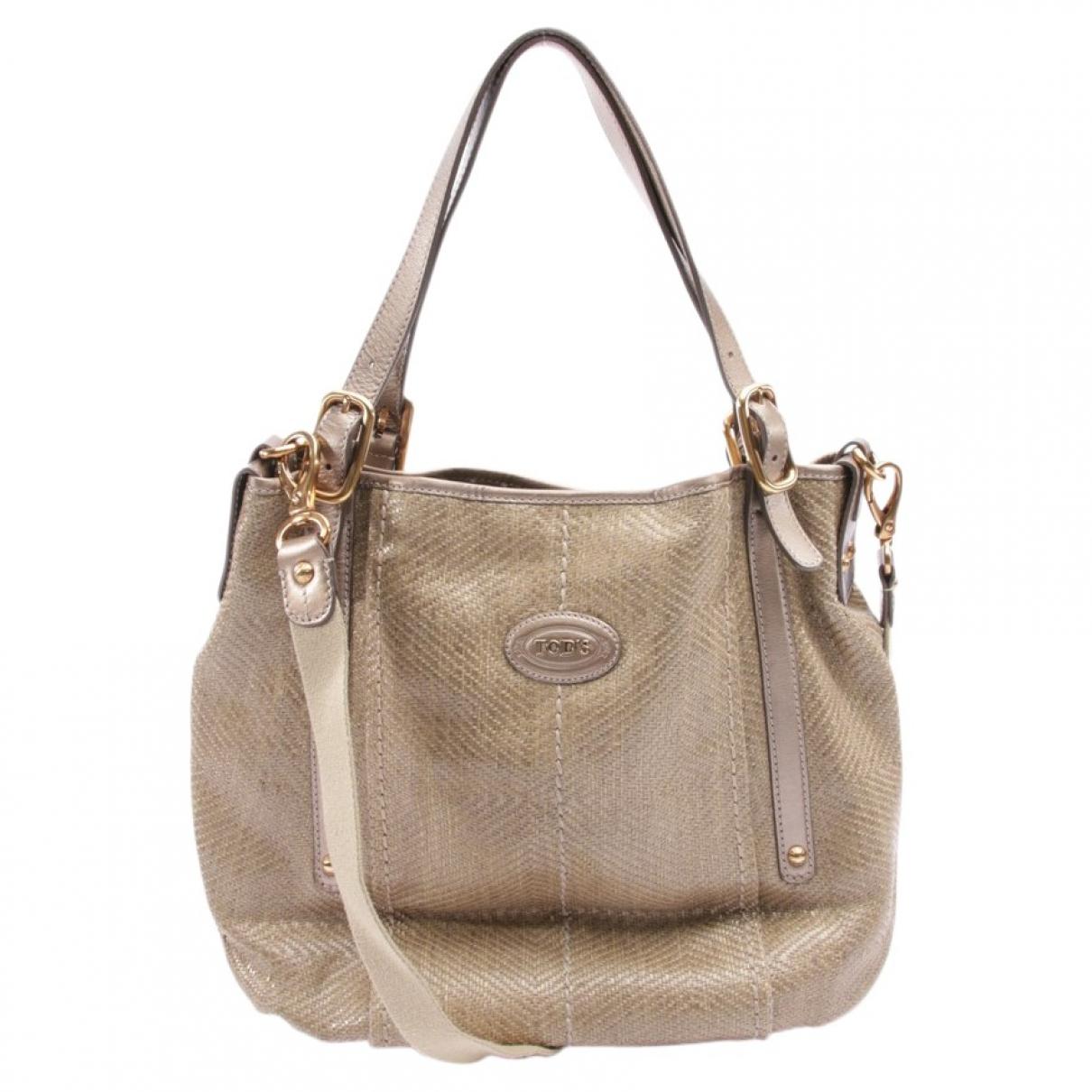 Tod's \N Beige Cotton handbag for Women \N