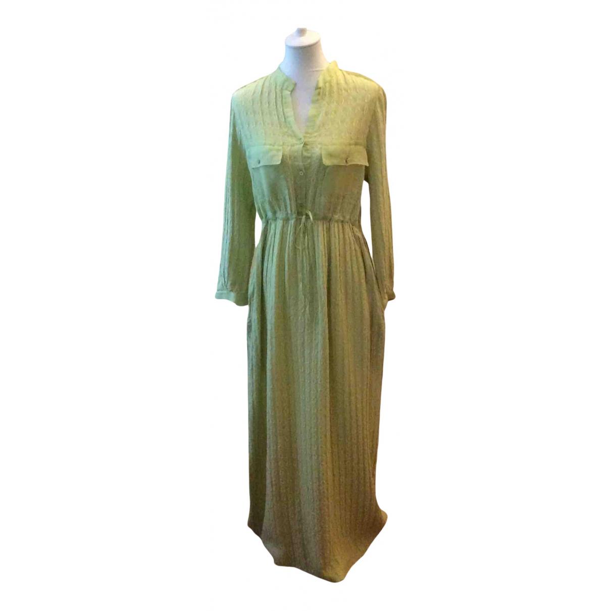Tzipporah \N Kleid in  Gruen Seide