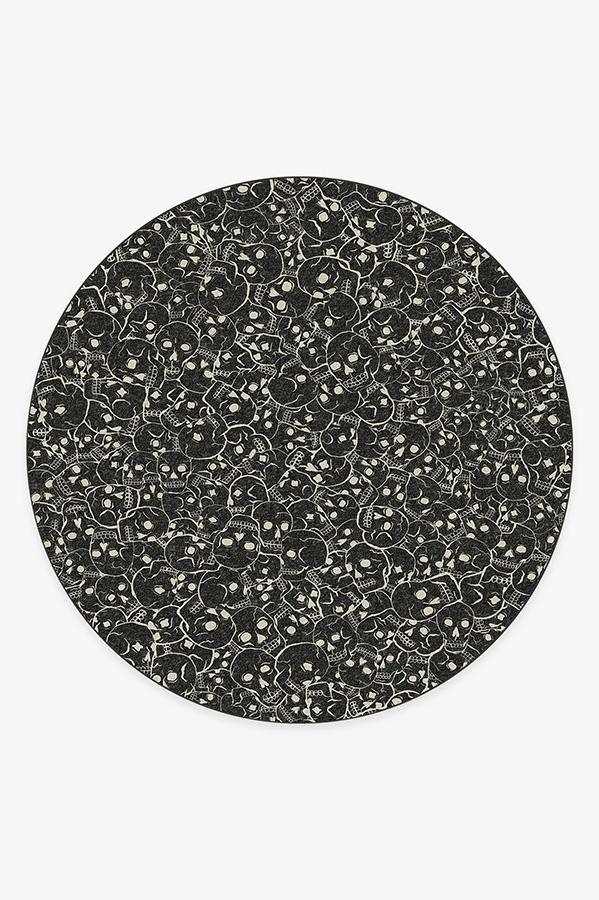 Washable Rug Cover   Catacombs Rug   Stain-Resistant   Ruggable   8' Round
