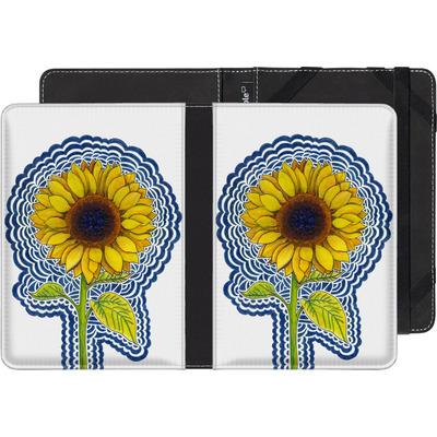 Pocketbook Touch Lux 2 eBook Reader Huelle - Sunflower Drawing von Kaitlyn Parker