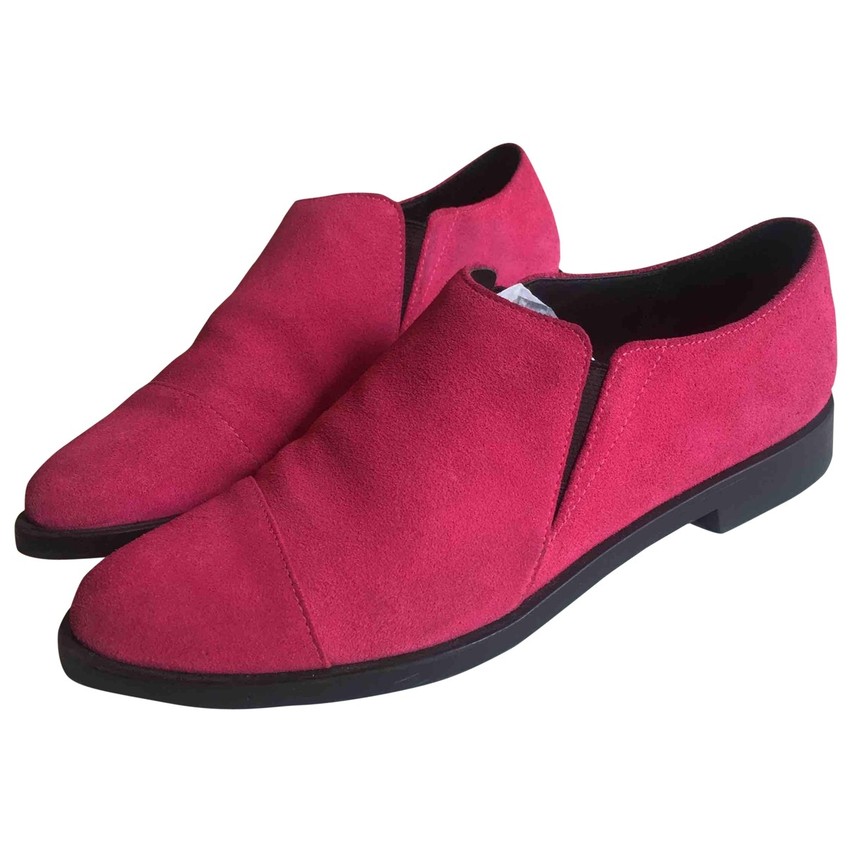 & Stories \N Pink Suede Flats for Women 38 EU