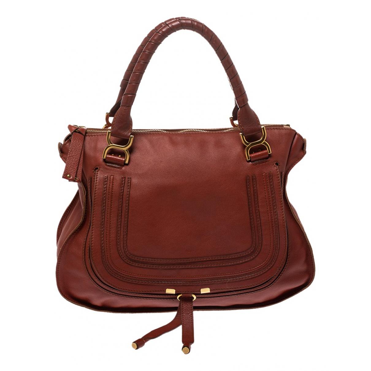 Chloé Marcie Leather handbag for Women \N