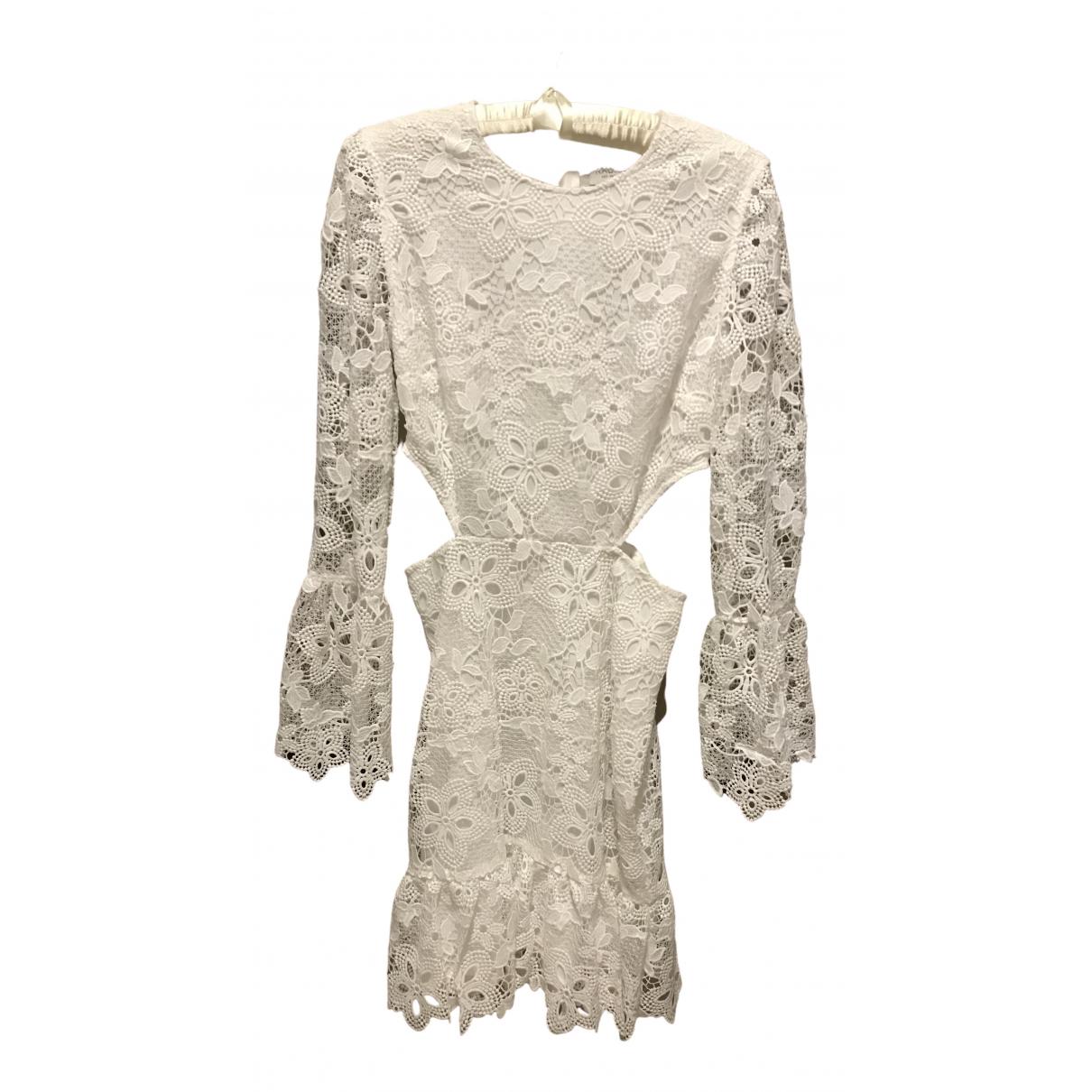 Mini vestido de Encaje Rachel Zoe