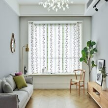 1pc Wheat Ear Pattern Curtain