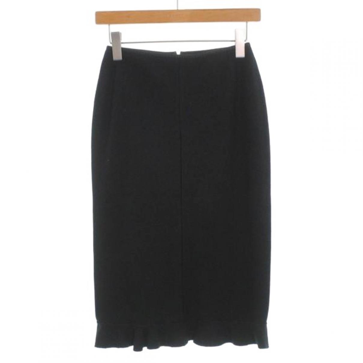 Louis Vuitton \N Black Wool skirt for Women 34 FR