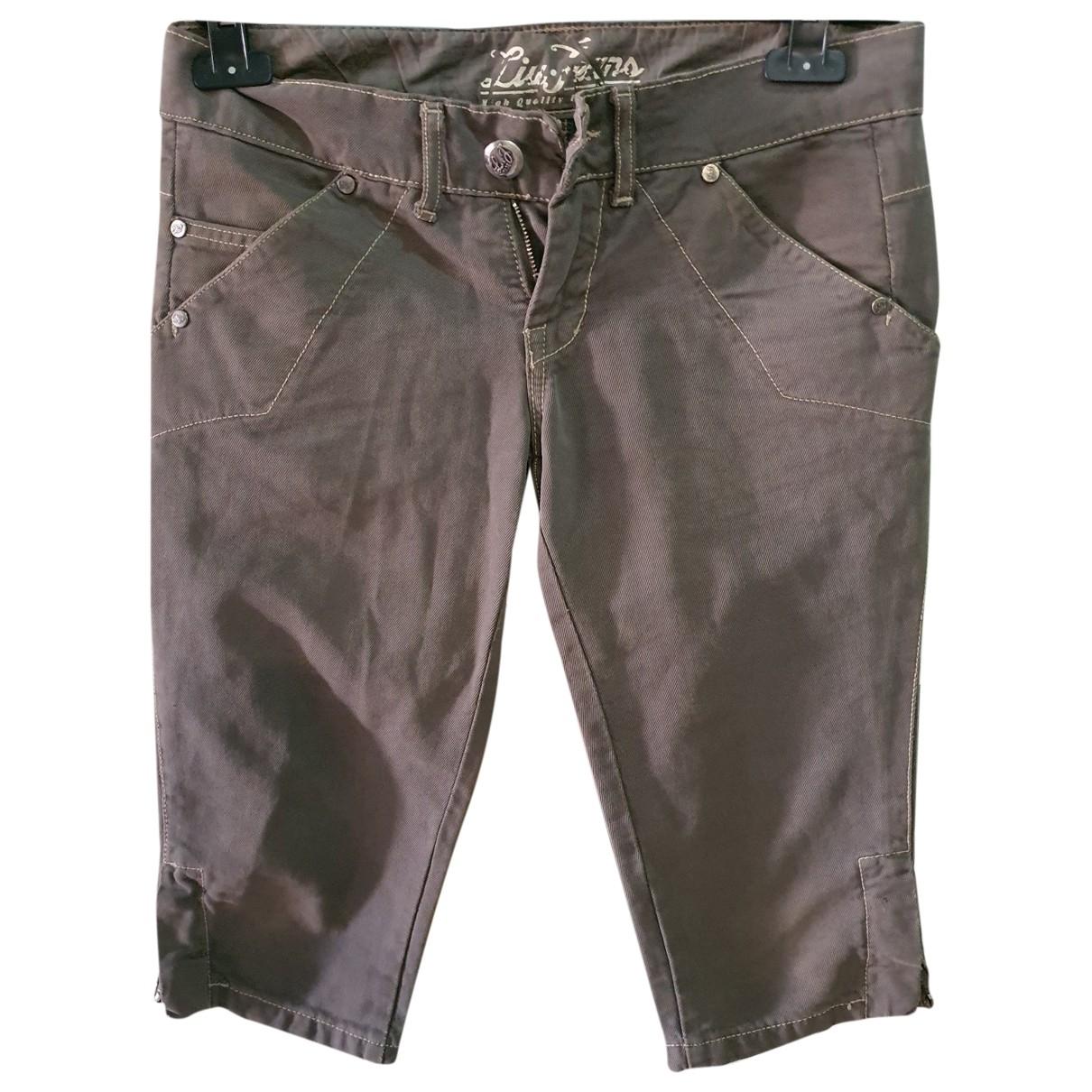 Liu.jo \N Denim - Jeans Trousers for Women 40 FR