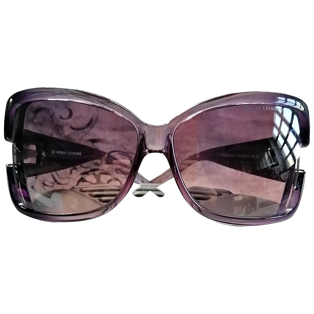 Emporio Armani - Lunettes   pour femme - violet