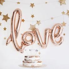 Ballon Banner mit Love Design