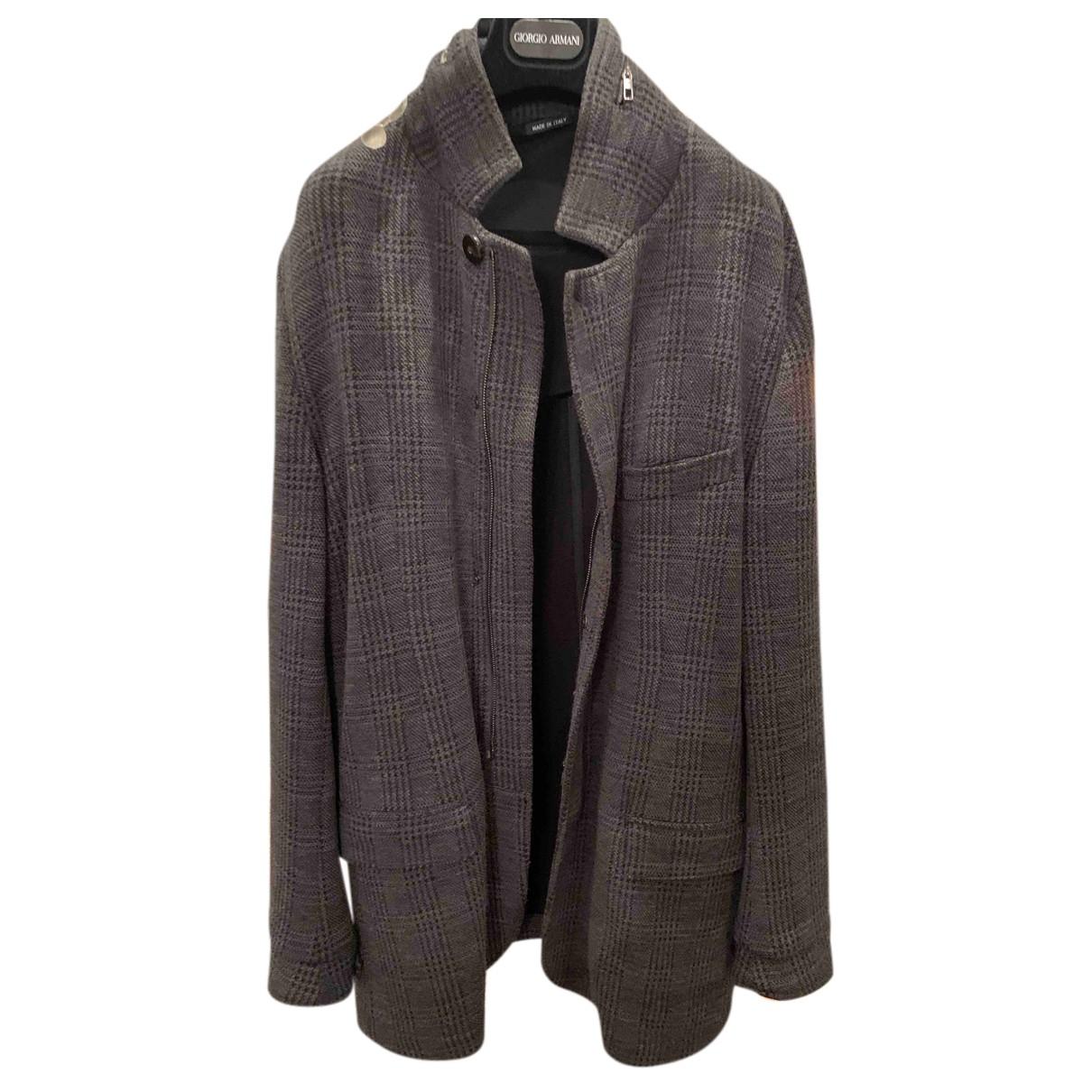 Giorgio Armani N Wool jacket  for Men 54 IT