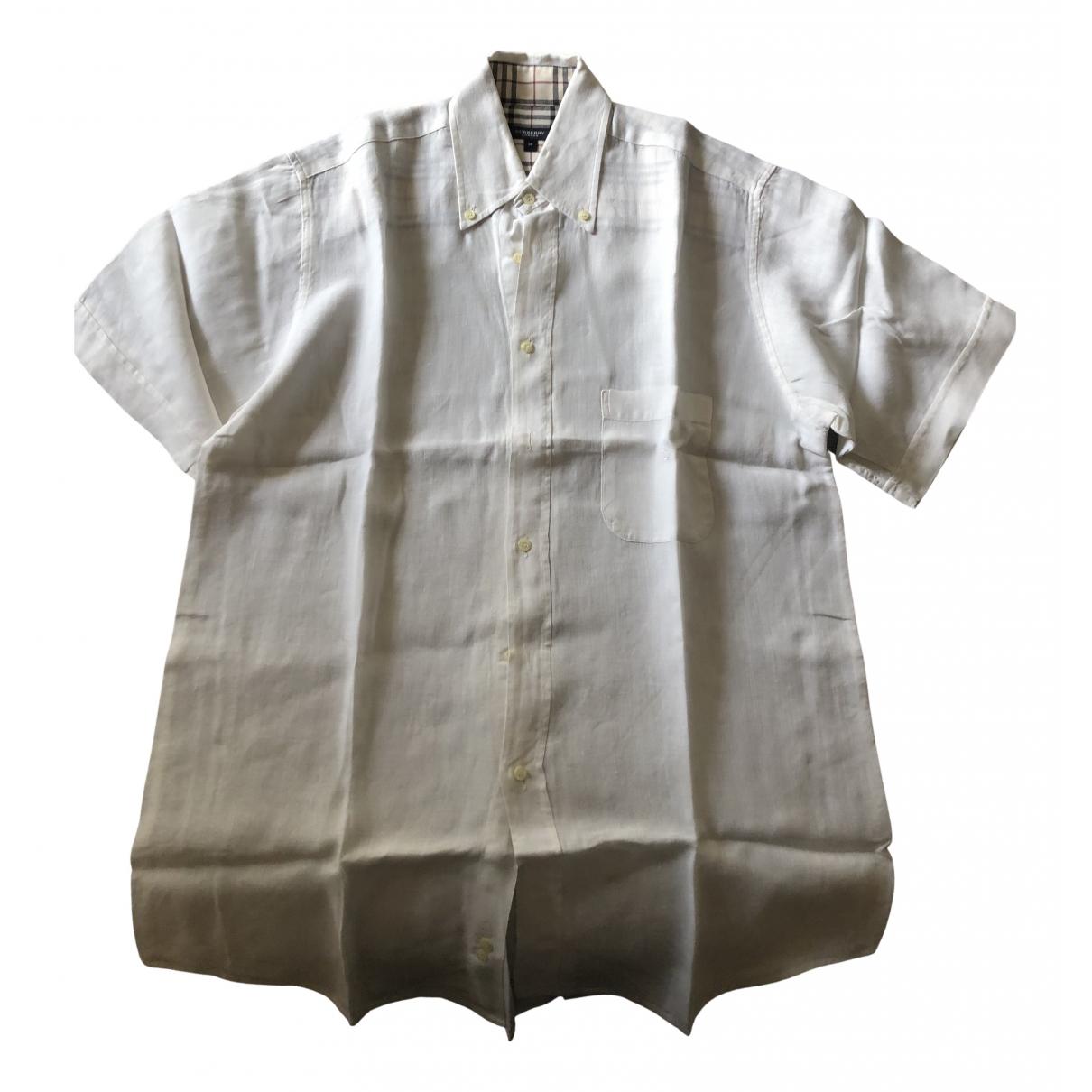 Camisas de Lino Burberry