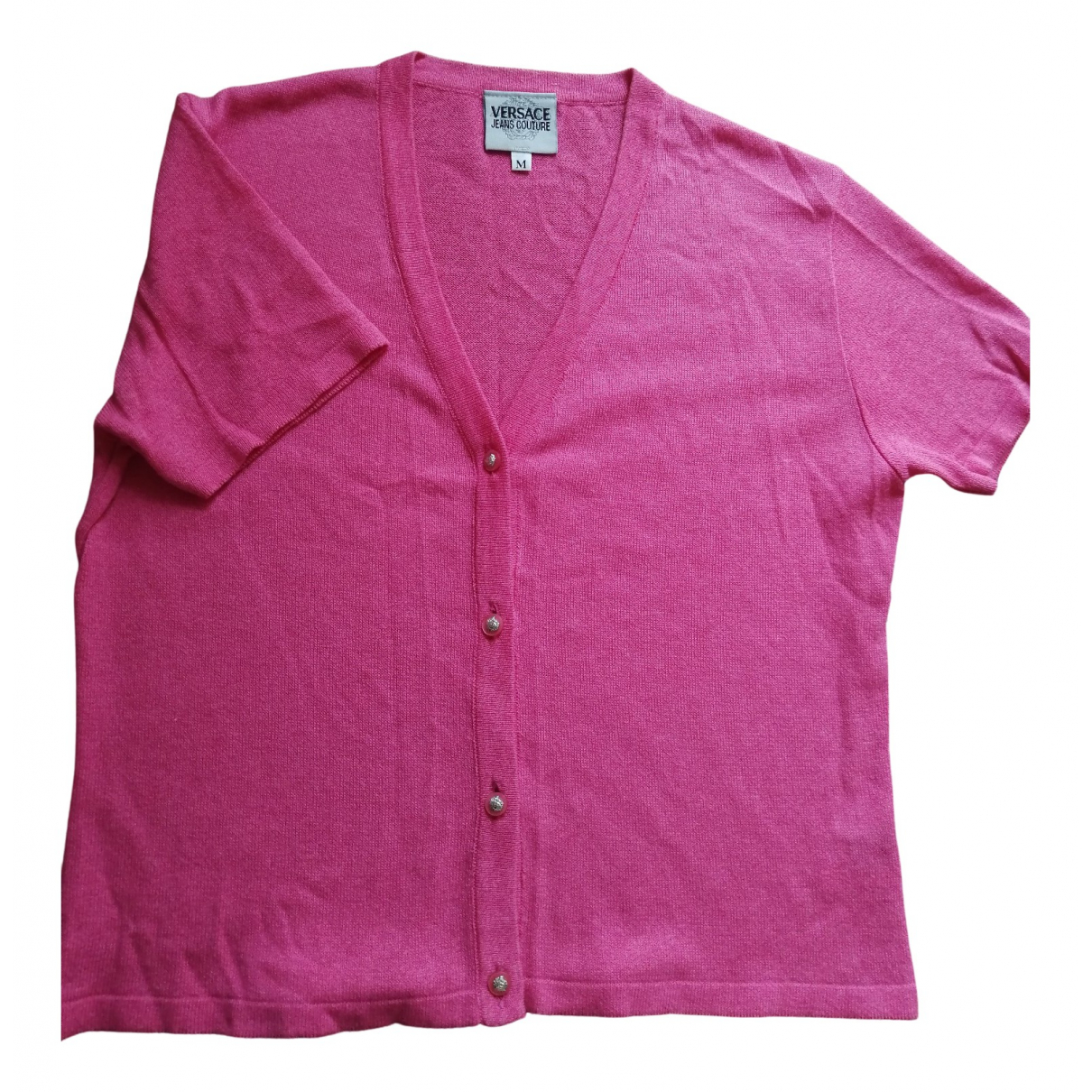 Versace Jeans \N Pink Silk Knitwear for Women 36 FR