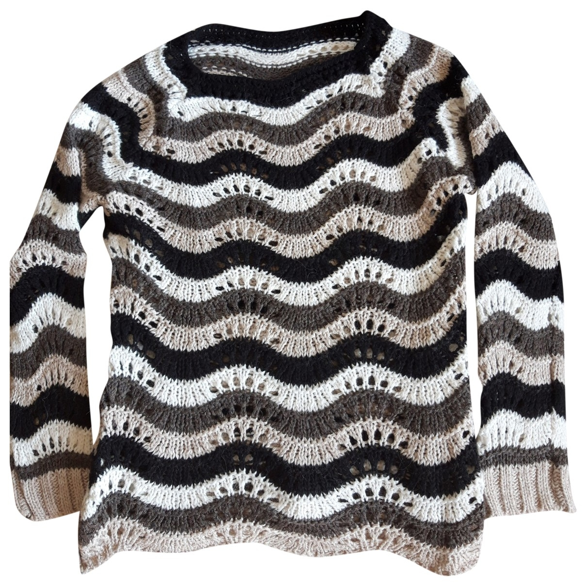 Non Signe / Unsigned \N Pullover in Synthetik
