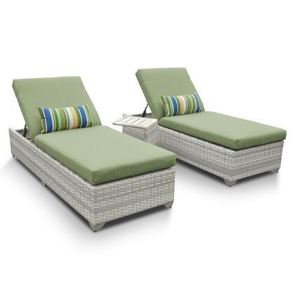 FAIRMONT-2x-ST-CILANTRO Fairmont Chaise Set of 2 Outdoor Wicker Patio Furniture With Side Table with 2 Covers: Beige and