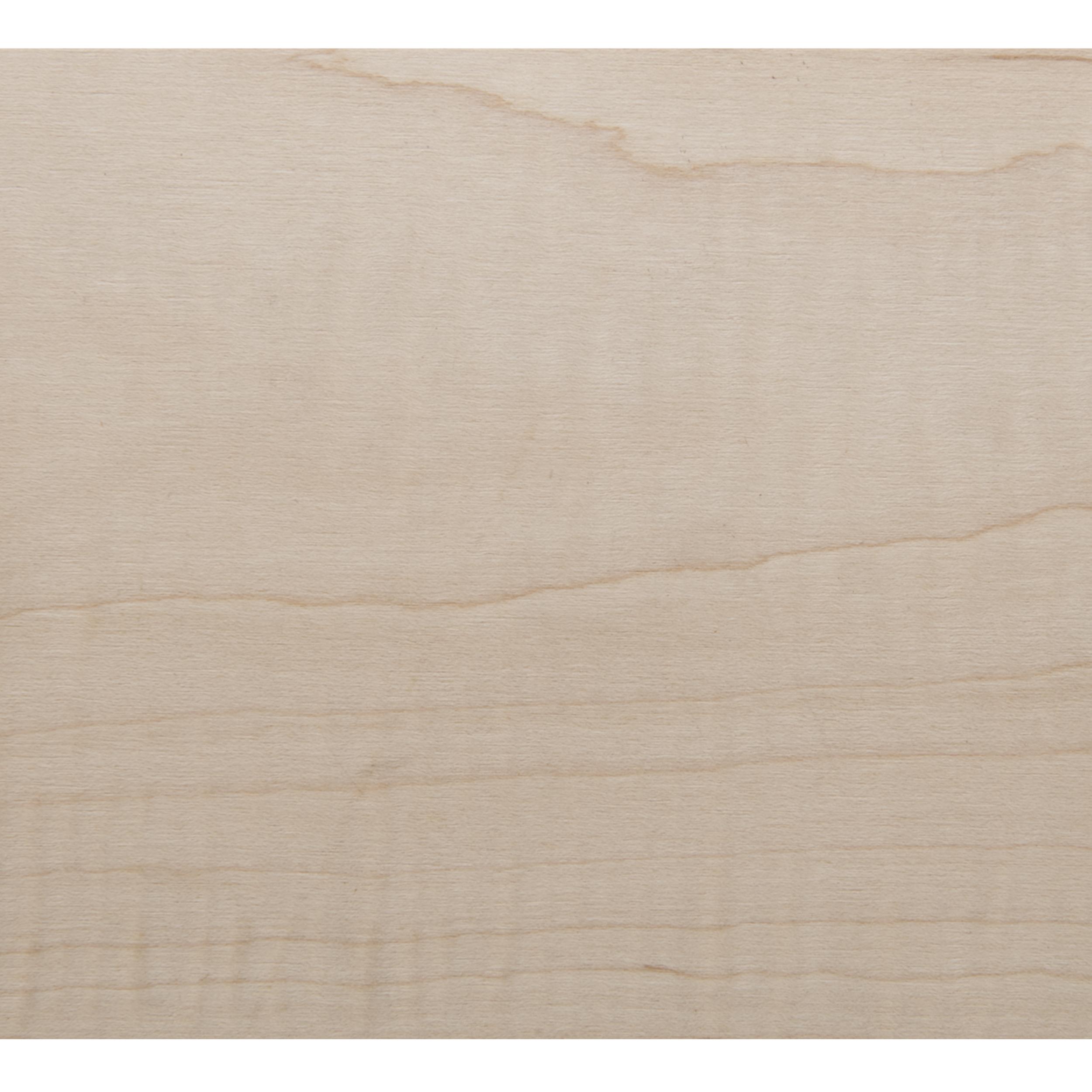 Figured Maple Veneer Sheet Plain Sliced 4' x 8' 2-Ply Wood on Wood