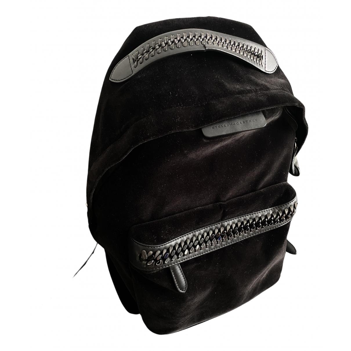 Stella Mccartney \N Black Velvet backpack for Women \N