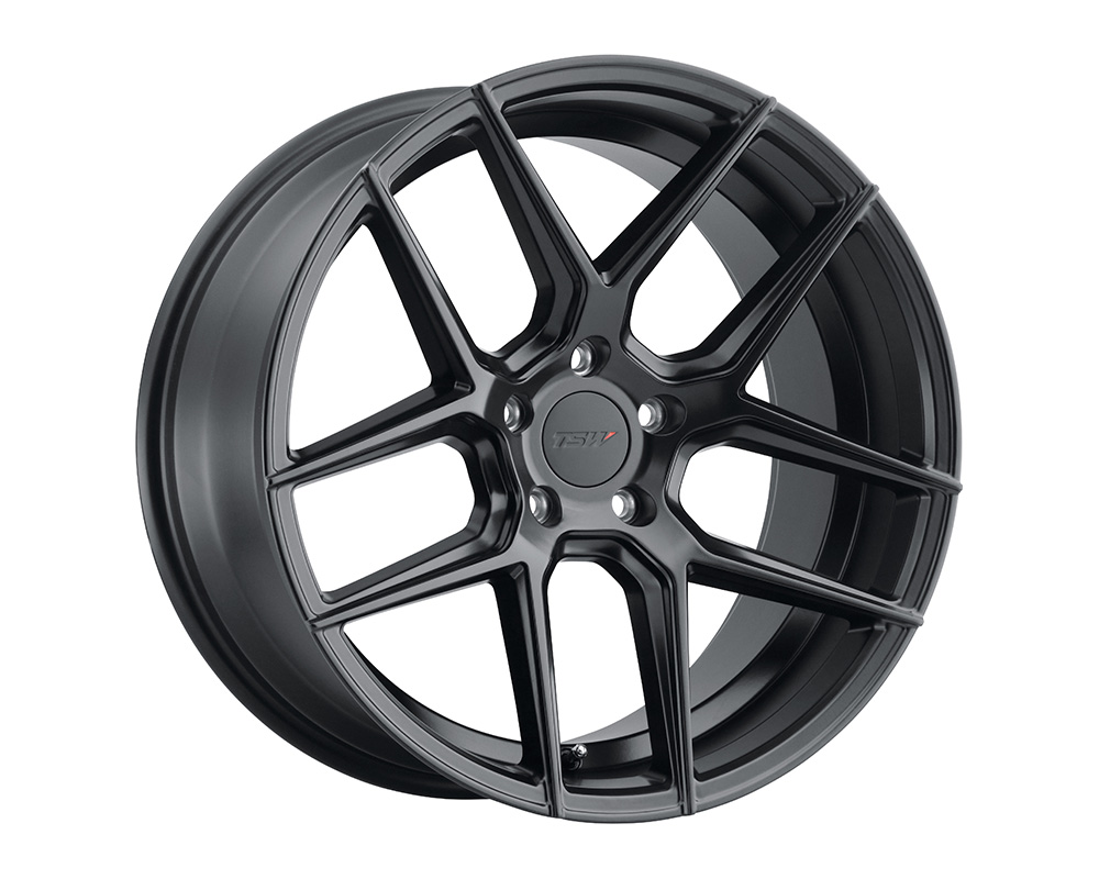TSW Tabac Wheel 18x8.5  5x112 42mm Semi Gloss Black