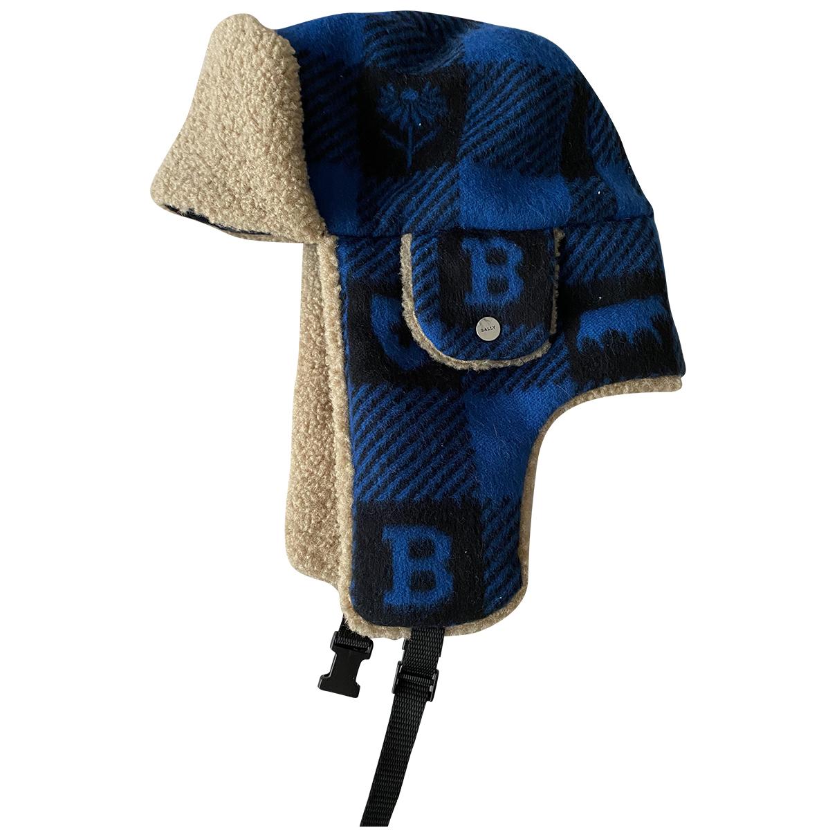 Bally - Chapeau & Bonnets   pour homme en laine - multicolore
