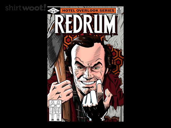 Redrum Jack T Shirt