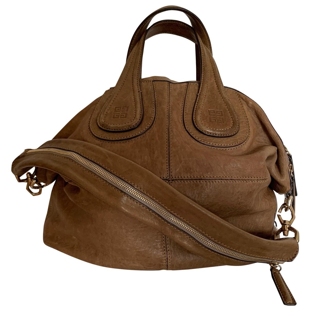 Givenchy Nightingale Handtasche in  Kamel Leder