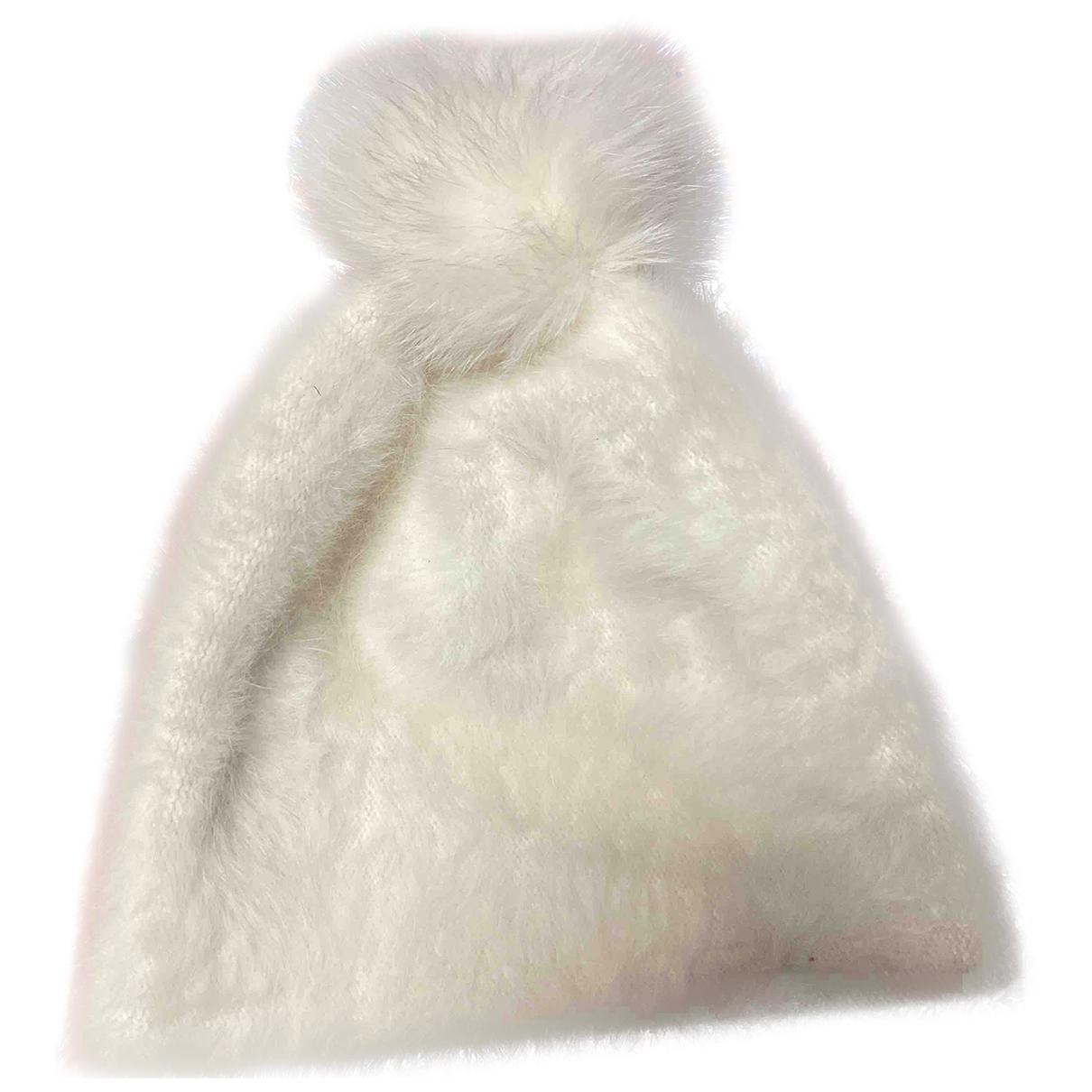 Max Mara - Chapeau   pour femme en autre - blanc