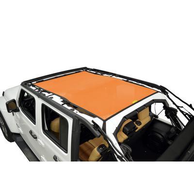 DirtyDog 4x4 Safari Sun Screen (Orange) - JL4S18S1OR