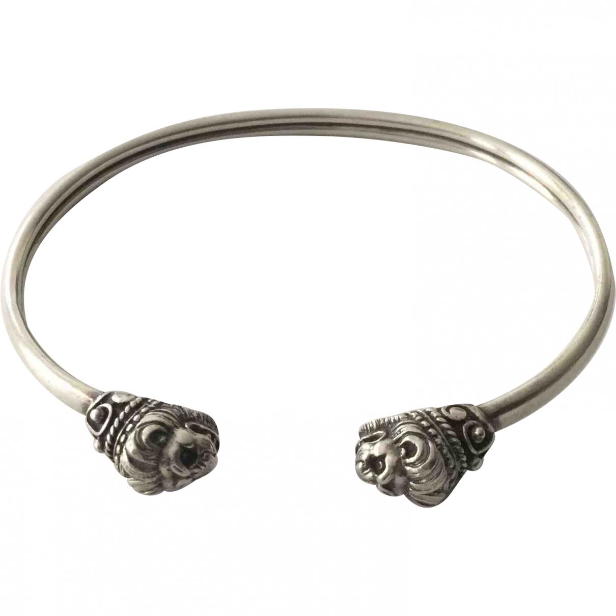 - Bracelet Motifs Animaliers pour femme en argent - anthracite