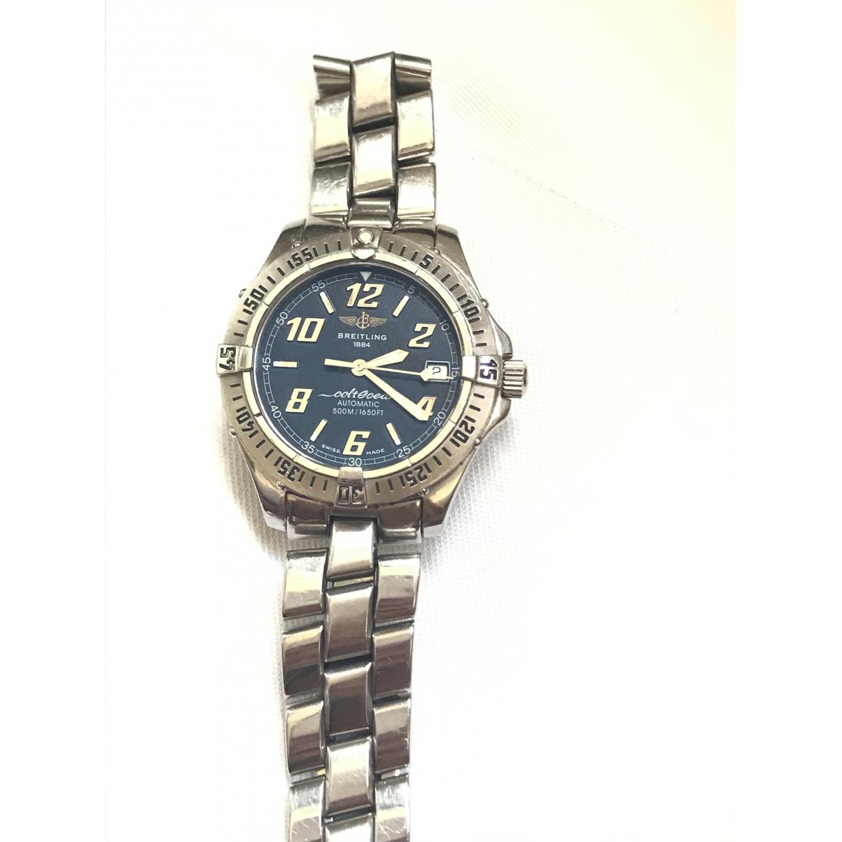 Breitling Colt  Uhr in  Blau Stahl