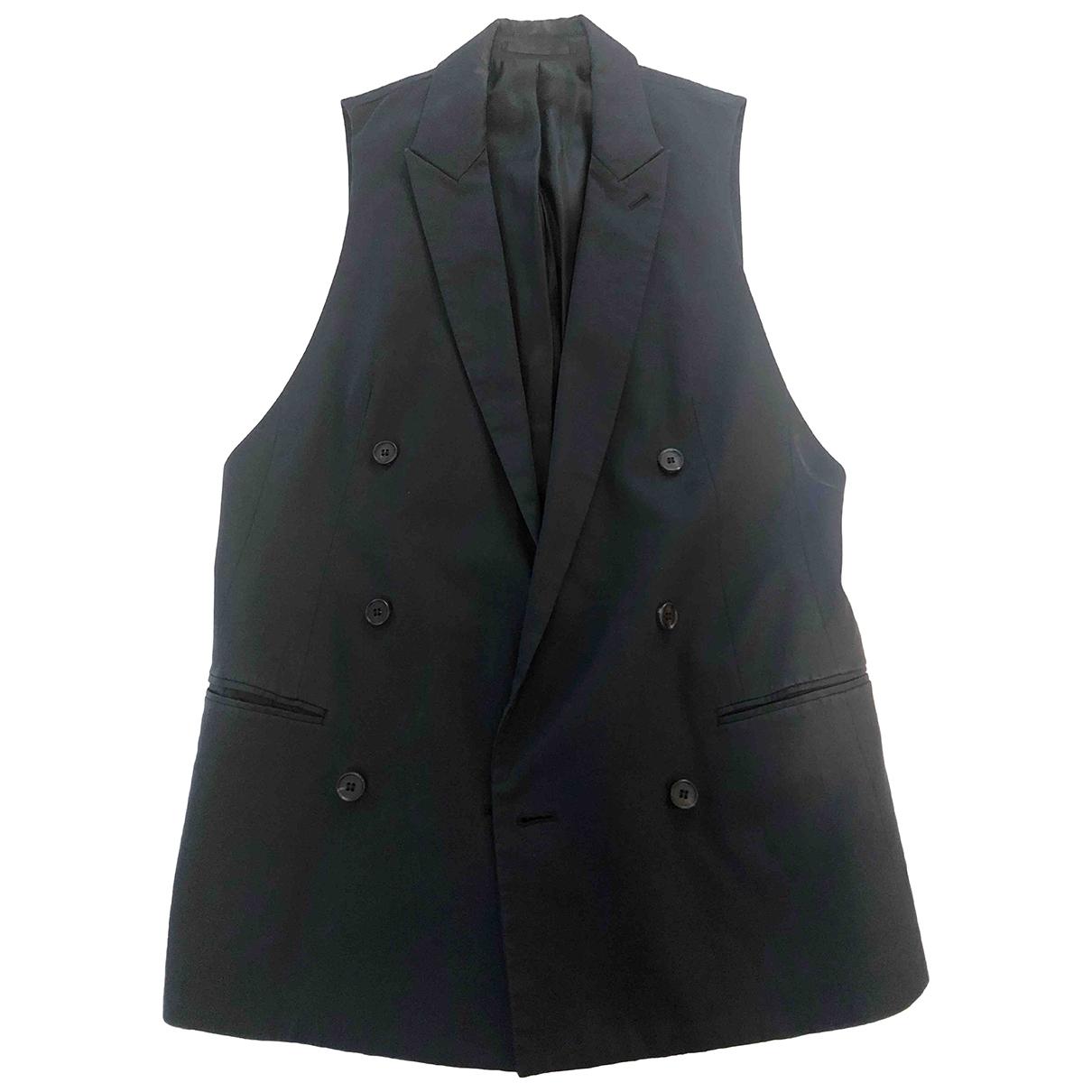 All Saints \N Black Cotton jacket for Women 34 FR
